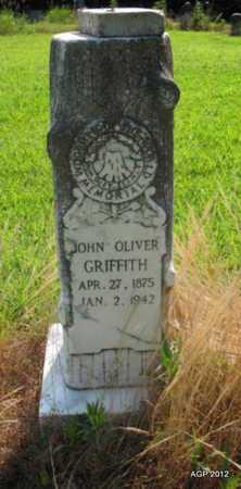 GRIFFITH, JOHN OLIVER - Desha County, Arkansas | JOHN OLIVER GRIFFITH - Arkansas Gravestone Photos