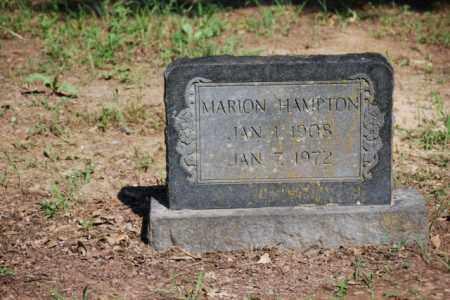 HAMPTON, MARION - Desha County, Arkansas | MARION HAMPTON - Arkansas Gravestone Photos