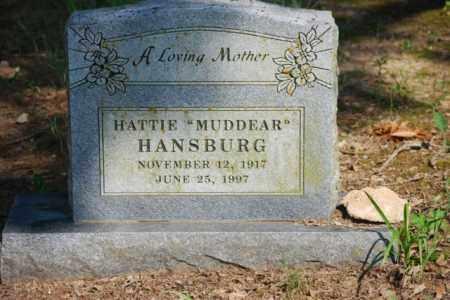 HANSURG, HATTIE - Desha County, Arkansas | HATTIE HANSURG - Arkansas Gravestone Photos