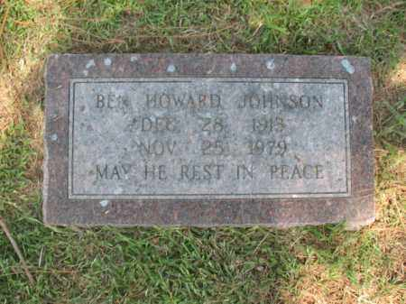 JOHNSON, BEN HOWARD - Desha County, Arkansas   BEN HOWARD JOHNSON - Arkansas Gravestone Photos