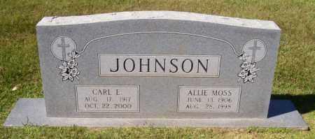 JOHNSON, CARL E - Desha County, Arkansas | CARL E JOHNSON - Arkansas Gravestone Photos