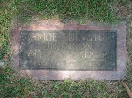 JOHNSON, CARRIE - Desha County, Arkansas   CARRIE JOHNSON - Arkansas Gravestone Photos