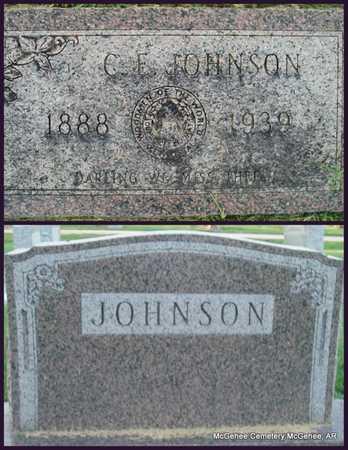 JOHNSON, CARL E - Desha County, Arkansas   CARL E JOHNSON - Arkansas Gravestone Photos