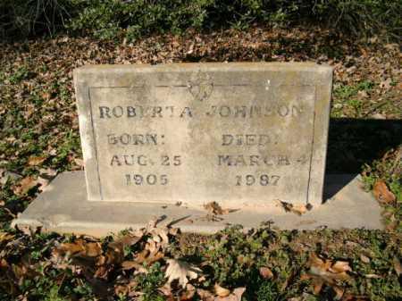 JOHNSON, ROBERTA - Desha County, Arkansas | ROBERTA JOHNSON - Arkansas Gravestone Photos