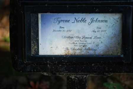 JOHNSON, TYRONE NOBLE - Desha County, Arkansas | TYRONE NOBLE JOHNSON - Arkansas Gravestone Photos