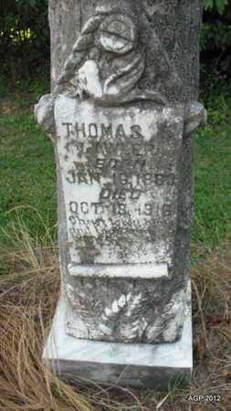 LAWLER, THOMAS (CLOSEUP) - Desha County, Arkansas   THOMAS (CLOSEUP) LAWLER - Arkansas Gravestone Photos