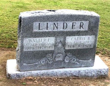 LINDER, WALTER E. - Desha County, Arkansas   WALTER E. LINDER - Arkansas Gravestone Photos