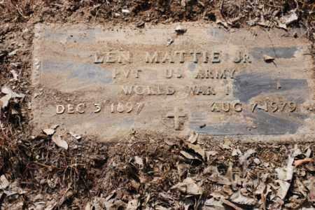 MATTIE, JR. (VETERAN WWI), BEN - Desha County, Arkansas | BEN MATTIE, JR. (VETERAN WWI) - Arkansas Gravestone Photos