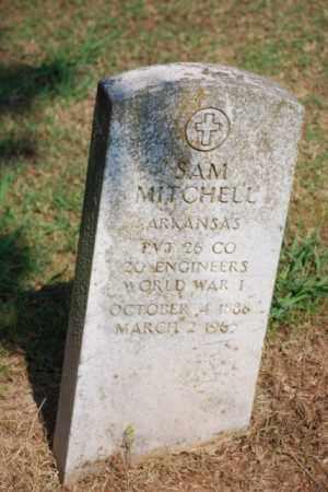 MITCHELL (VETERAN WWI), SAM - Desha County, Arkansas | SAM MITCHELL (VETERAN WWI) - Arkansas Gravestone Photos
