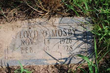 MOSBY, FLOYD O. - Desha County, Arkansas | FLOYD O. MOSBY - Arkansas Gravestone Photos