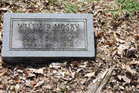 MOSBY, WILLIE P. - Desha County, Arkansas   WILLIE P. MOSBY - Arkansas Gravestone Photos