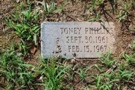 PHILLIPS, TONEY - Desha County, Arkansas   TONEY PHILLIPS - Arkansas Gravestone Photos
