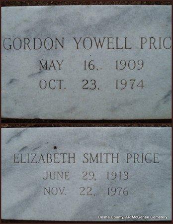 PRICE, GORDON YOWELL - Desha County, Arkansas | GORDON YOWELL PRICE - Arkansas Gravestone Photos