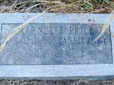 PRICE, MARNETTE - Desha County, Arkansas | MARNETTE PRICE - Arkansas Gravestone Photos