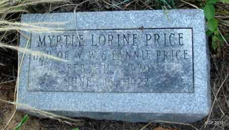 PRICE, MYRTLE LORINE - Desha County, Arkansas | MYRTLE LORINE PRICE - Arkansas Gravestone Photos