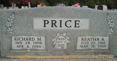PRICE, RICHARD MARVIN - Desha County, Arkansas | RICHARD MARVIN PRICE - Arkansas Gravestone Photos