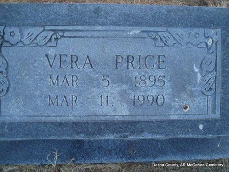 PRICE, VERA - Desha County, Arkansas | VERA PRICE - Arkansas Gravestone Photos