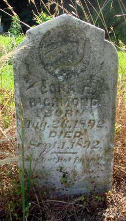 RICHMOND, CORA E - Desha County, Arkansas | CORA E RICHMOND - Arkansas Gravestone Photos