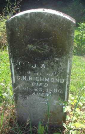 RICHMOND, J A - Desha County, Arkansas   J A RICHMOND - Arkansas Gravestone Photos