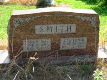 SMITH, CLIFTON B - Desha County, Arkansas | CLIFTON B SMITH - Arkansas Gravestone Photos
