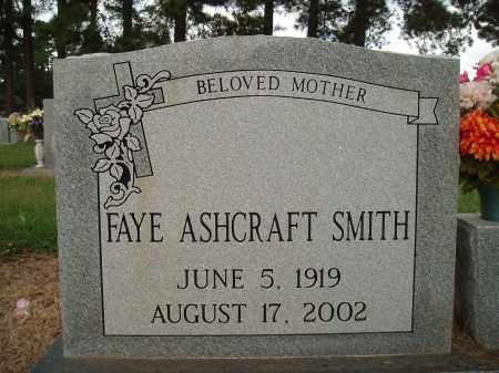 SMITH, FAYE ASHCRAFT - Desha County, Arkansas | FAYE ASHCRAFT SMITH - Arkansas Gravestone Photos