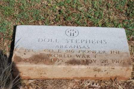 STEPHENS (VETERAN WWI), DOLL - Desha County, Arkansas | DOLL STEPHENS (VETERAN WWI) - Arkansas Gravestone Photos