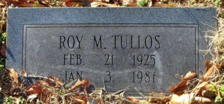 TULLOS, ROY M. (CLOSE UP) - Desha County, Arkansas | ROY M. (CLOSE UP) TULLOS - Arkansas Gravestone Photos