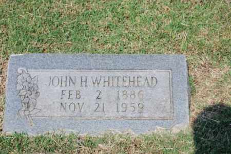 WHITEHEAD, JOHN H - Desha County, Arkansas | JOHN H WHITEHEAD - Arkansas Gravestone Photos