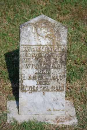 WHITEHEAD, KATIE - Desha County, Arkansas | KATIE WHITEHEAD - Arkansas Gravestone Photos