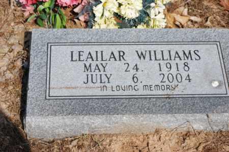 WILLIAMS, LEAILAR - Desha County, Arkansas | LEAILAR WILLIAMS - Arkansas Gravestone Photos