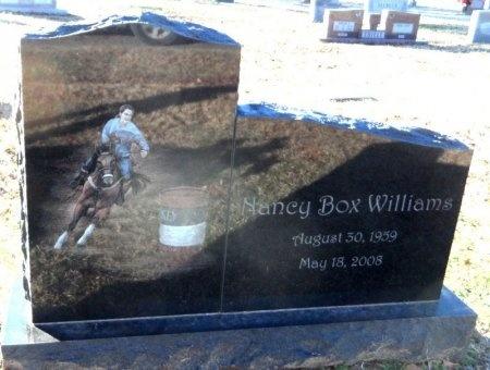 BOX WILLIAMS, NANCY - Desha County, Arkansas | NANCY BOX WILLIAMS - Arkansas Gravestone Photos