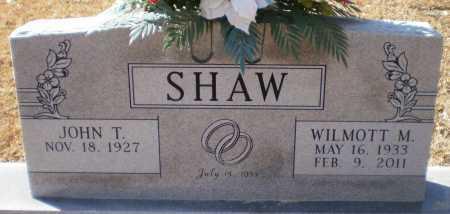 SHAW, WILMOTT MARIE - Drew County, Arkansas | WILMOTT MARIE SHAW - Arkansas Gravestone Photos