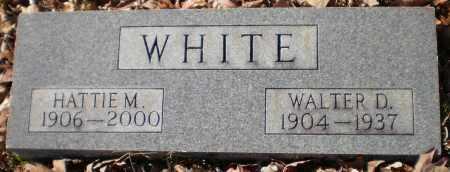WHITE, WALTER DEWEY - Drew County, Arkansas | WALTER DEWEY WHITE - Arkansas Gravestone Photos