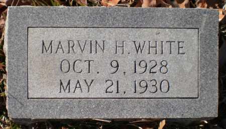 WHITE, MARVIN H - Drew County, Arkansas | MARVIN H WHITE - Arkansas Gravestone Photos