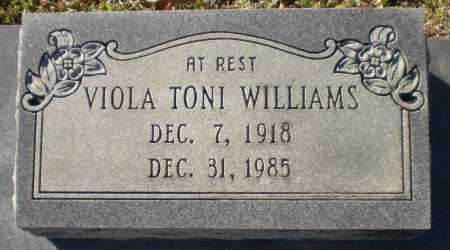 WILLIAMS, VIOLA TONI - Drew County, Arkansas | VIOLA TONI WILLIAMS - Arkansas Gravestone Photos