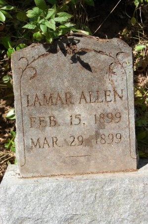 ALLEN, LAMAR - Drew County, Arkansas | LAMAR ALLEN - Arkansas Gravestone Photos
