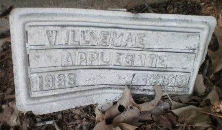 APPLEGATE, WILLIE MAE - Drew County, Arkansas | WILLIE MAE APPLEGATE - Arkansas Gravestone Photos