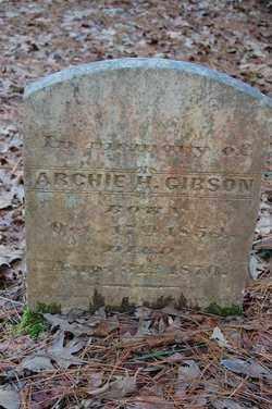 GIBSON, ARCHIE - Drew County, Arkansas | ARCHIE GIBSON - Arkansas Gravestone Photos
