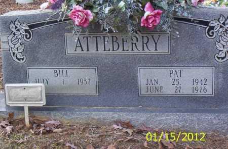 ATTEBERRY, PAT - Drew County, Arkansas | PAT ATTEBERRY - Arkansas Gravestone Photos
