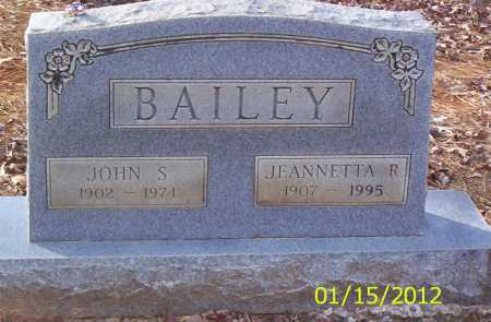 BAILEY, JOHN S - Drew County, Arkansas | JOHN S BAILEY - Arkansas Gravestone Photos
