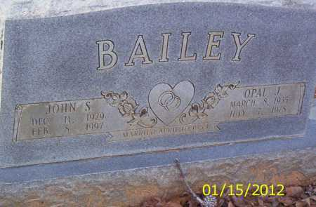 BAILY, OPAL J - Drew County, Arkansas | OPAL J BAILY - Arkansas Gravestone Photos