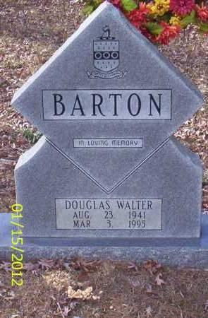 BARTON, DOUGLAS WALTER - Drew County, Arkansas | DOUGLAS WALTER BARTON - Arkansas Gravestone Photos
