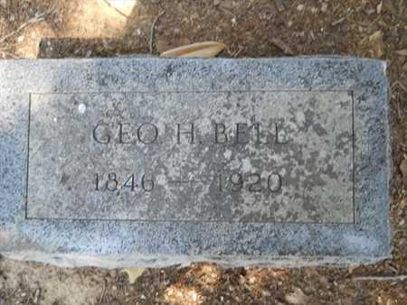 BELL, GEORGE H - Drew County, Arkansas | GEORGE H BELL - Arkansas Gravestone Photos
