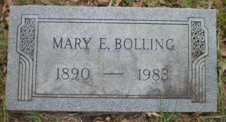 BOLLING, MARY E - Drew County, Arkansas | MARY E BOLLING - Arkansas Gravestone Photos