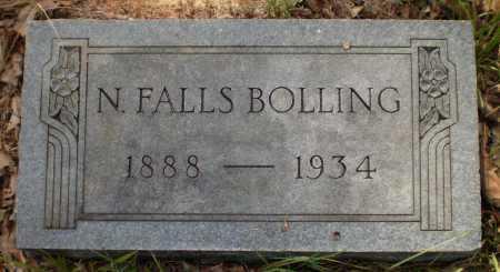 BOLLING, N FALLS - Drew County, Arkansas | N FALLS BOLLING - Arkansas Gravestone Photos
