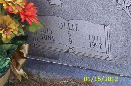 BROWN, OLLIE - Drew County, Arkansas | OLLIE BROWN - Arkansas Gravestone Photos