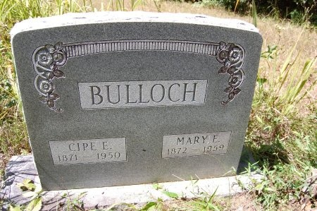 BULLOCH, CIPE E. - Drew County, Arkansas   CIPE E. BULLOCH - Arkansas Gravestone Photos