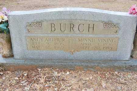 BURCH, ANCY ARTHUR - Drew County, Arkansas | ANCY ARTHUR BURCH - Arkansas Gravestone Photos
