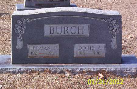 BURCH, DORIS A - Drew County, Arkansas | DORIS A BURCH - Arkansas Gravestone Photos