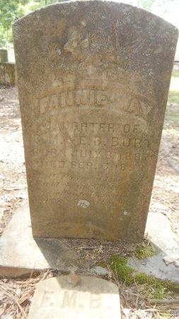 BURT, FANNIE MAY - Drew County, Arkansas   FANNIE MAY BURT - Arkansas Gravestone Photos